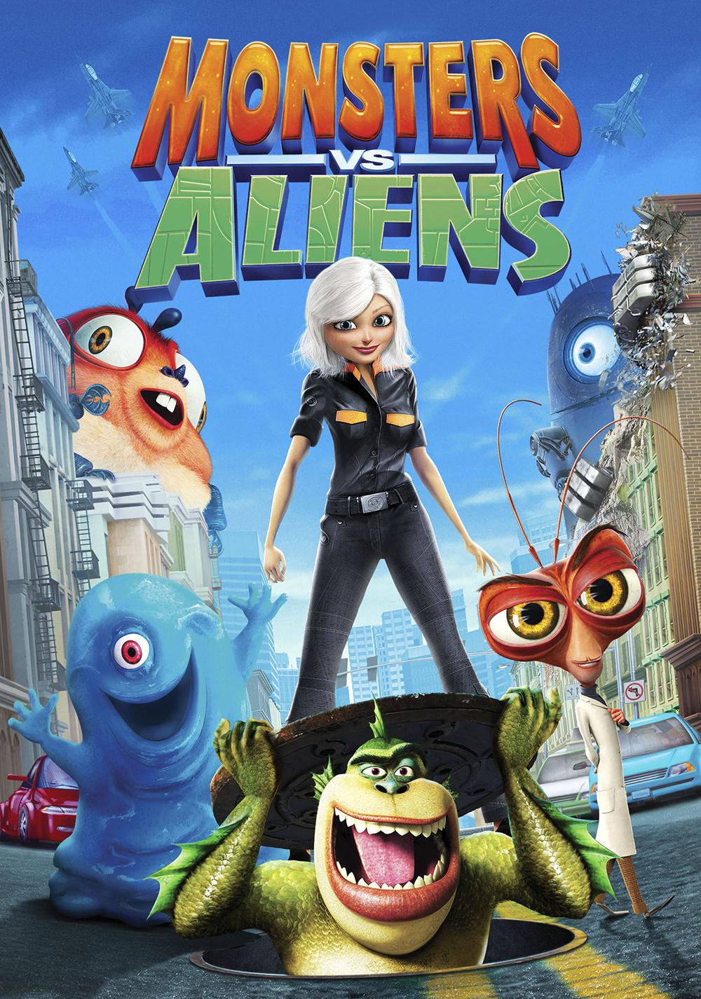 monsters vs aliens movie fanart fanarttv