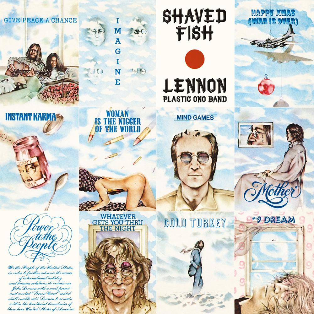 John lennon music fanart for John lennon shaved fish