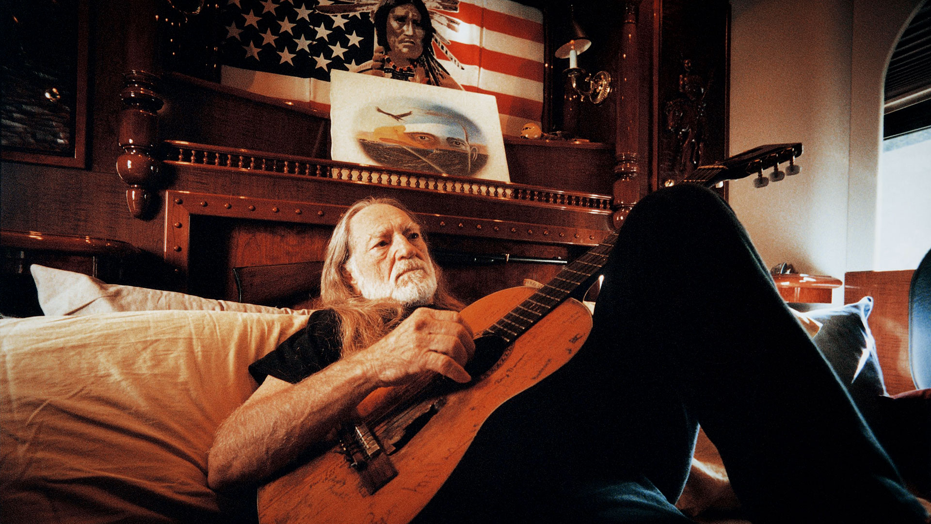 Man With The Blues av Willie Nelson