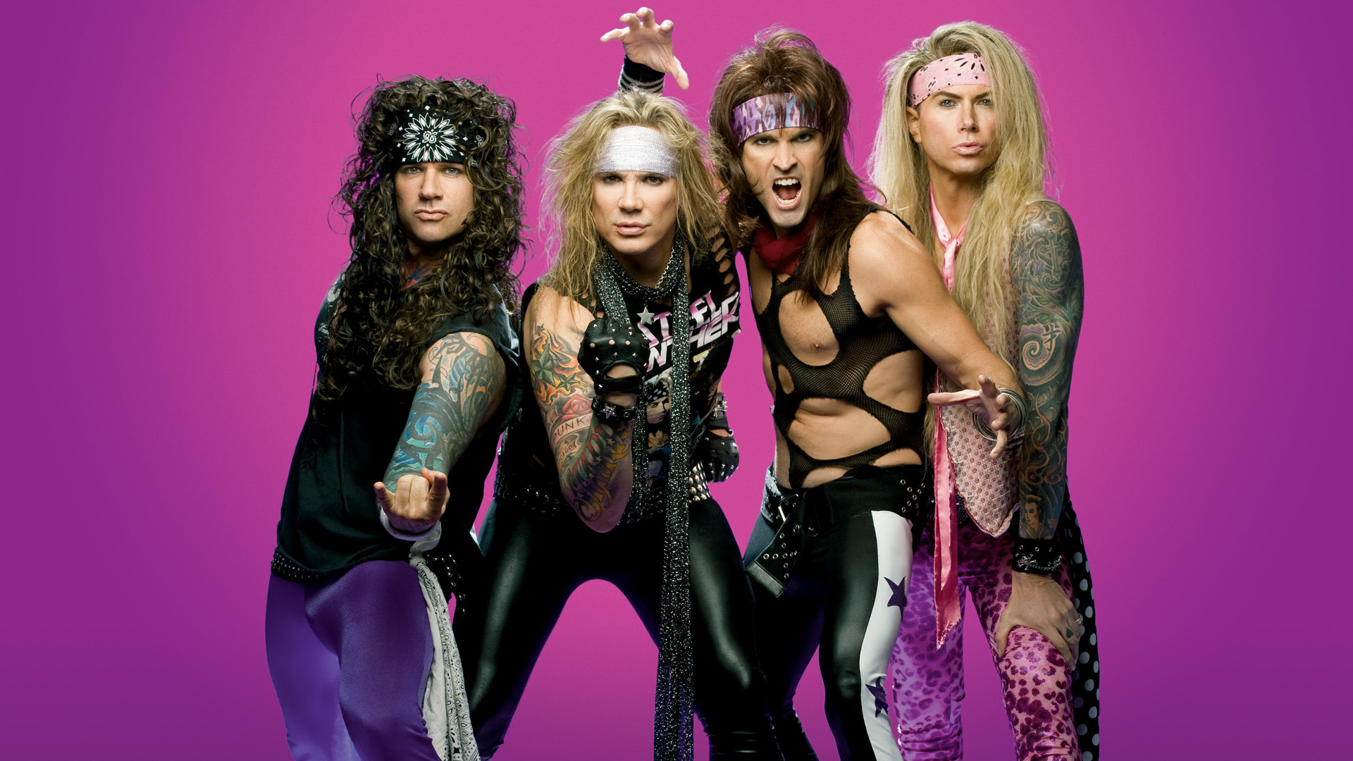 Death To All But Metal av Steel Panther